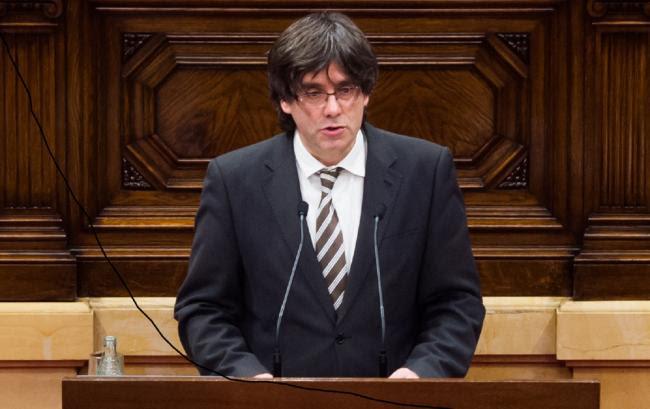 Catalonia's president Carles Puigdemont made the UDI pledge