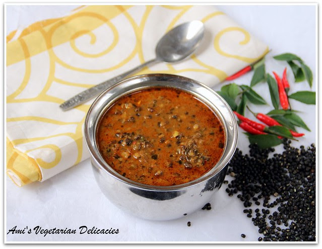 Dal Makhani - Black lentils in spicy cream base