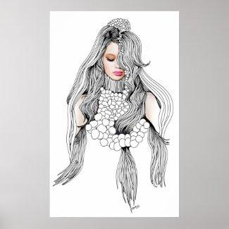 Mannequin print
