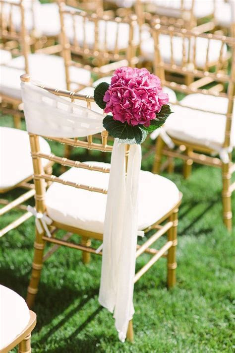 52 best Ceremony Chair Decor images on Pinterest