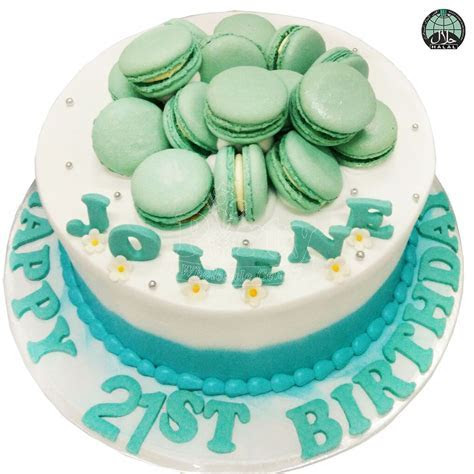Tiffany Macarons Halal Birthday Cake   Party Wholesale