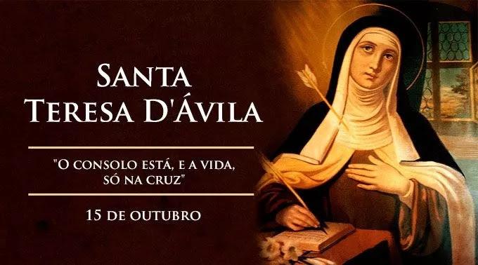 Hoje é Celebrada Santa Teresa Dávila Doutora Da Igreja Fidelium