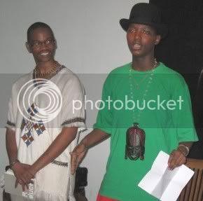 Thato Ntshabele and friend