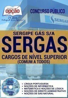 Apostila Concurso Sergipe-Gás SERGAS cargos nivel superior.