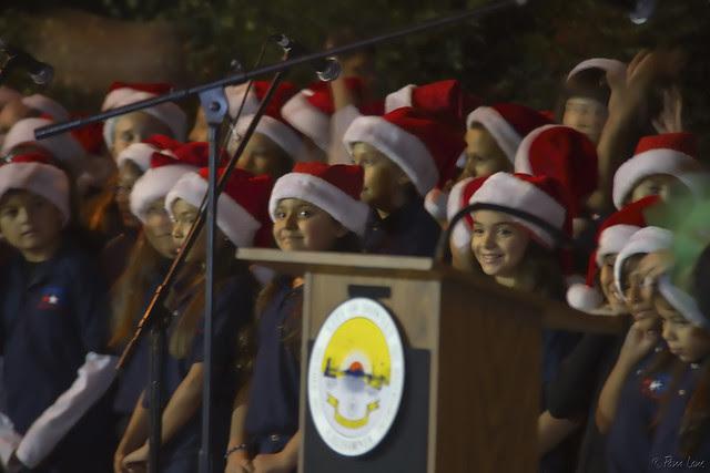Lewis Elementary School choir