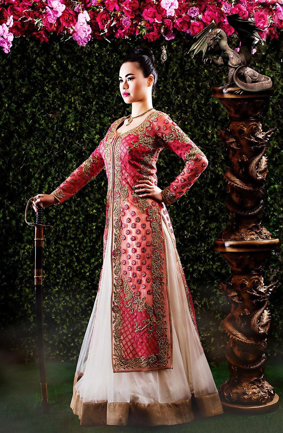 Disney-πριγκίπισσα νύφη-Ινδία-γάμος-φωτογραφία-Amrit-Grewal-5