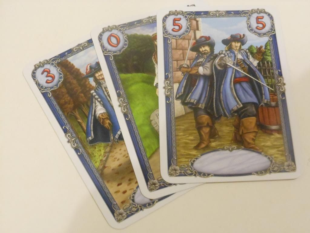 Musketeers card game
