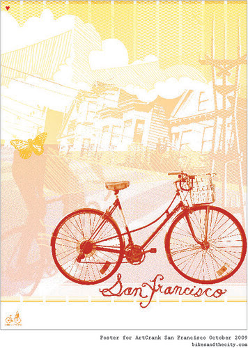 Bikes and the City for Artcrank 2009