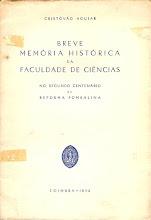 Breve Memória Histórica da Faculdade de Ciências da Universidade de Coimbra