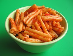 Leftover pasta for pasta frittata #1