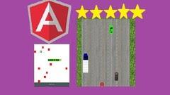 Angular Game development - Snake and Car Racing Game
