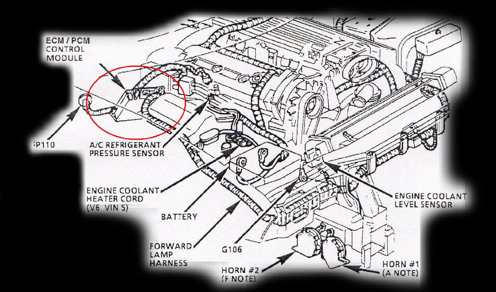97 Monte Carlo Engine Diagram