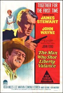 Resultado de imagen de El hombre que mató a Liberty Valance (1962).
