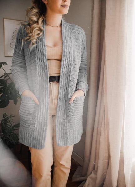 Crochet Kit - Body Language Cardigan