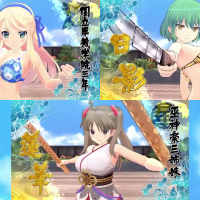 Screenshot, Senran Kagura, Video Games