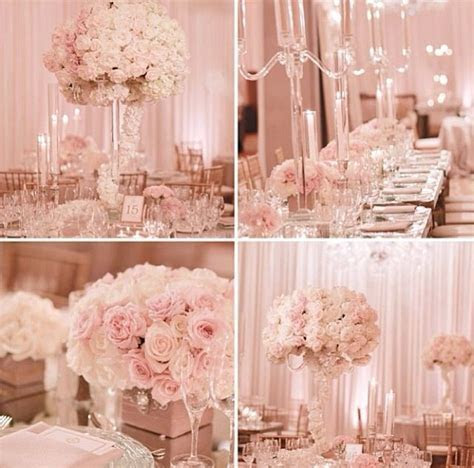 Soft pale pink & white for a wedding!!! LOVE.   2015