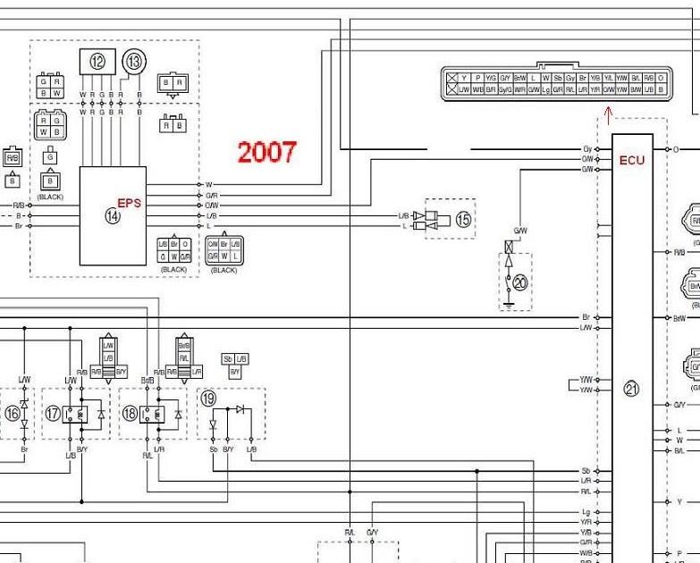 Yamaha Rhino Wiring Harnes Diagram