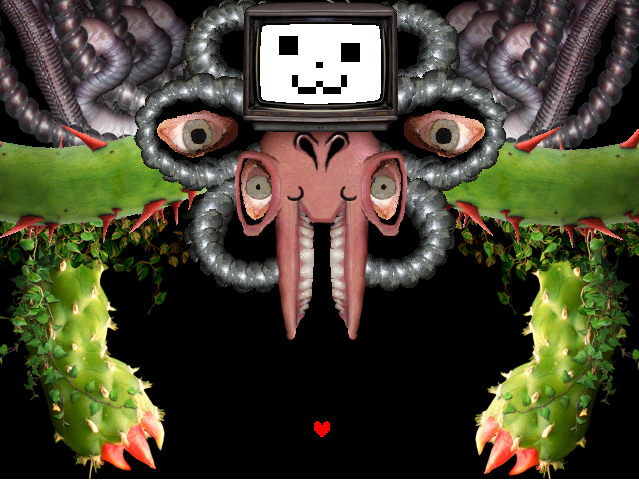 Seriously, how is Flowey's trollface not a meme yet ...