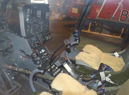 Cockpit XZ322 N BDRT St Athan 240605
