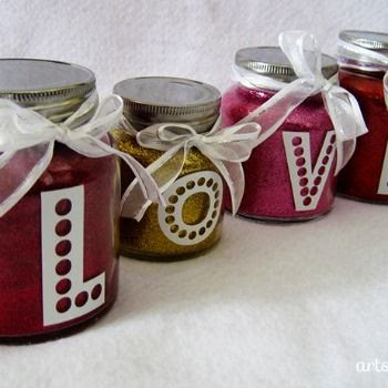 Valentine LOVE Jars