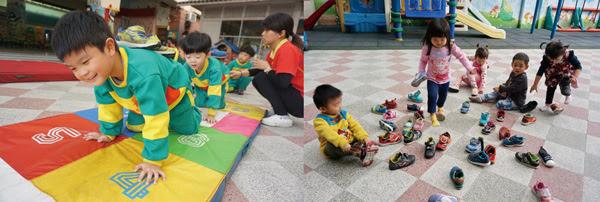 孩子們實力堅強,各種活動都難不倒他們。