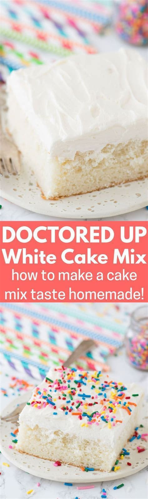 Best 25  White cake mixes ideas on Pinterest   Wedding