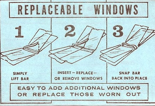 Replaceable Windows