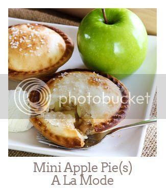 """Mini Apple Pie(s) A La Mode"""