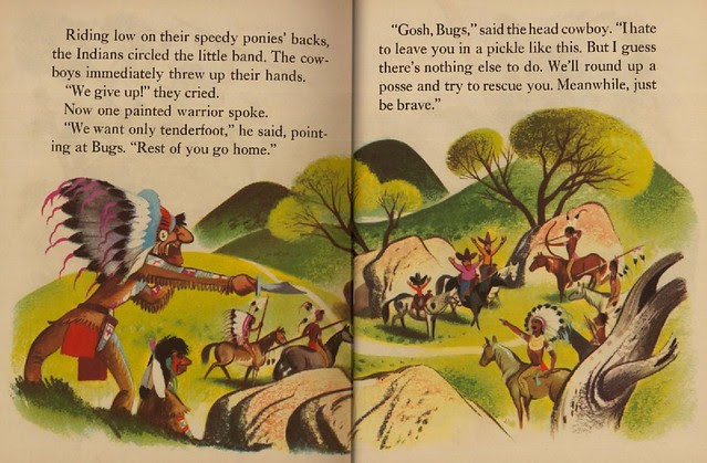 Bugs Bunny & the Indians009