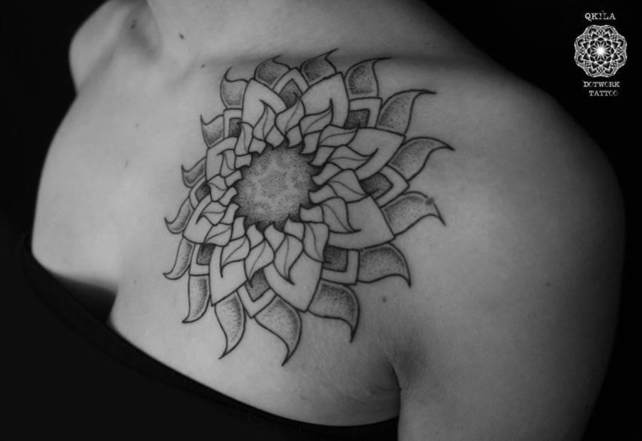 Mandala Sun Tattoo Best Tattoo Ideas Gallery