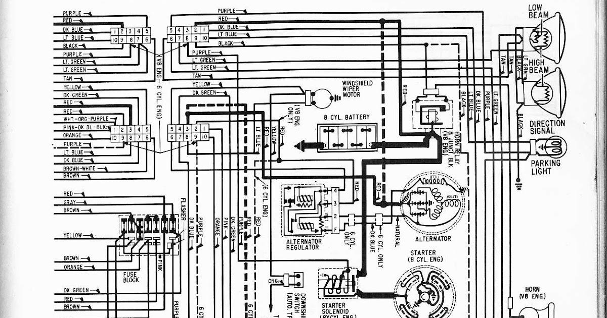 1967 Pontiac Gto Wiring Diagram