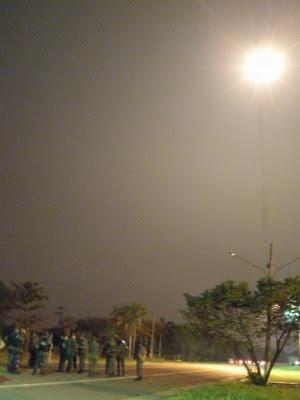 Facho de luz ajudará tropas a se deslocarem durante a noite (Foto: Divulgação/18° Brigada de Infantaria Fronteira)