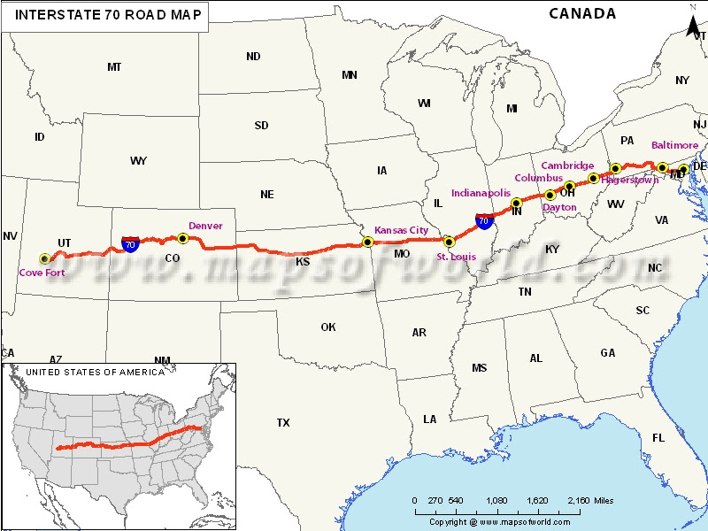 Us Map Interstate 40 Us Map Of The United States Maps US Route 40