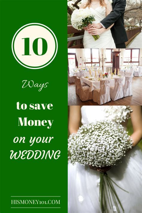 10 Ways to Save Money on your Wedding   His Money 101