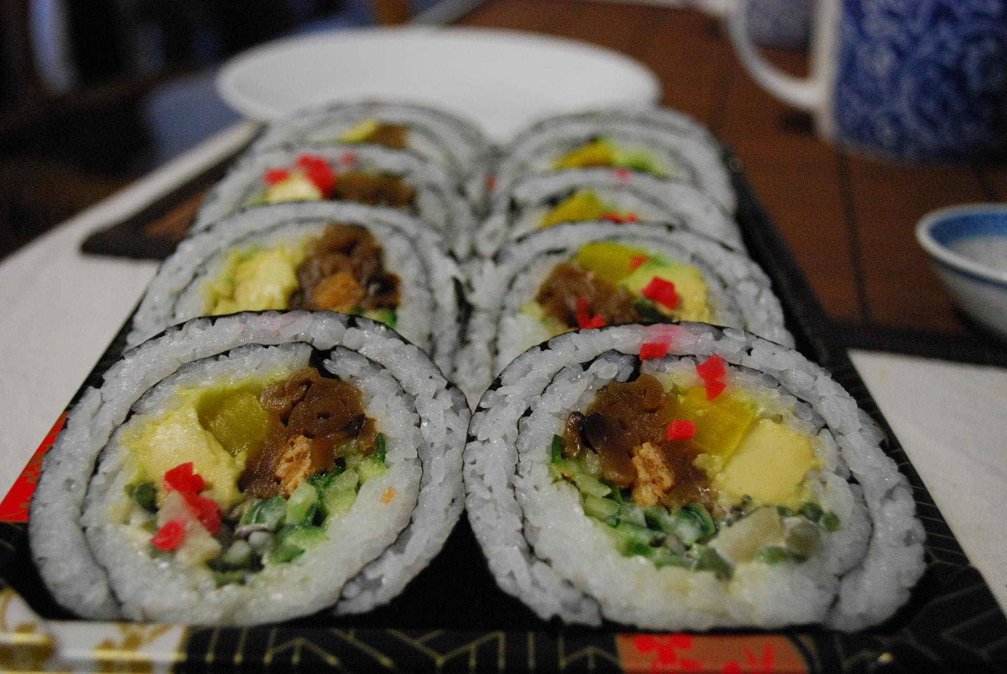 Vegetarian Maki Sushi at Suzuran Japan Foods Trading