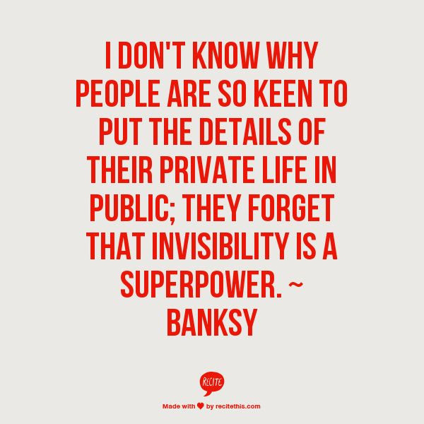 Quotes About Public And Private Life 78 Quotes