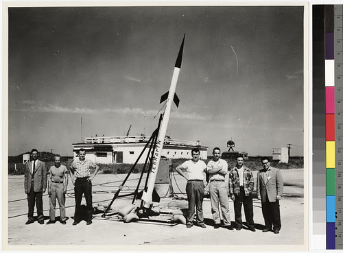 University of Maryland Terrapin Rocket Program, c. 1956 by La Guardia and Wagner Archives