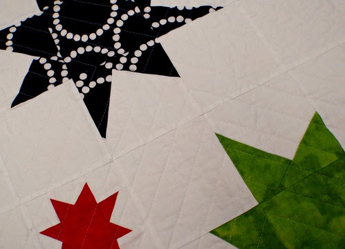A Star is Born quilting