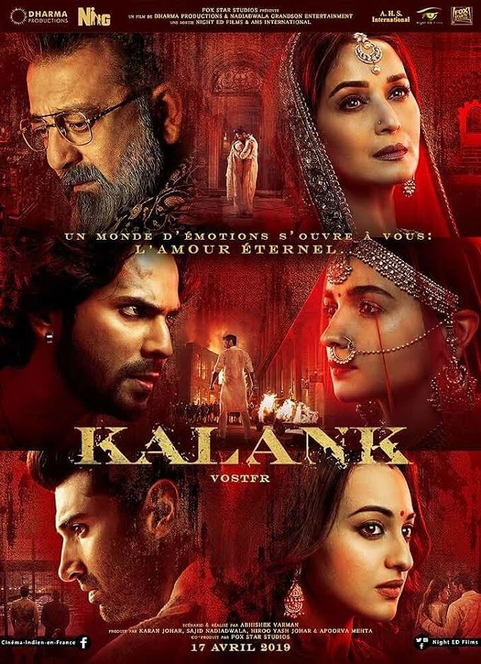 Kalank (2019) Hindi 1CD NEW DVDSCR x264 AAC [1.2GB] HD Print Download