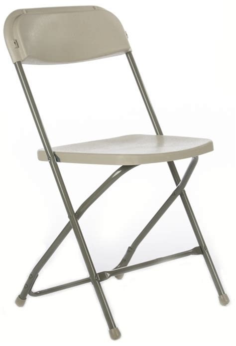 Free Shipping Cheap Beige Folding Chairs   Texas Plastic