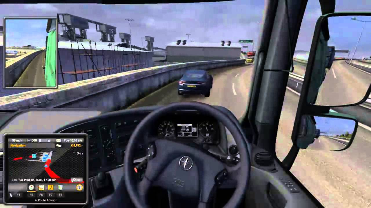 Ep4 Euro Truck Sim 2 Right Hand Driving And The Meaning