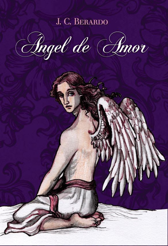 Tapa del libro Ángel de Amor.