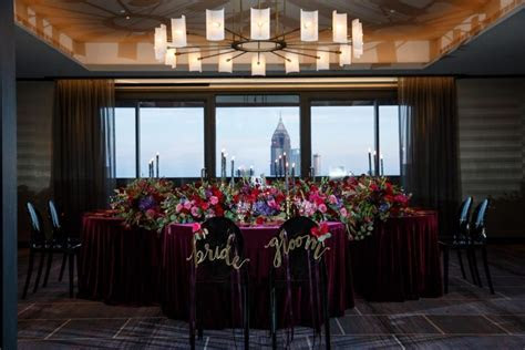 Candlelit Penthouse Wedding Inspiration at The Four