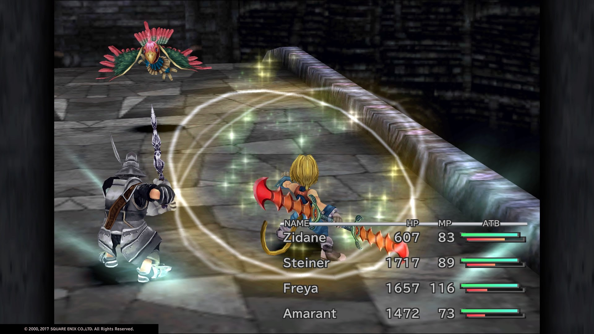 Guide: Here are all the cheats in Final Fantasy IX for PS4 screenshot