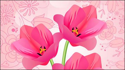 65 Gambar Vektor Bunga Tulip Paling Bagus