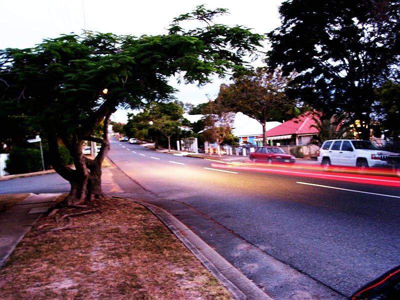 small road outside