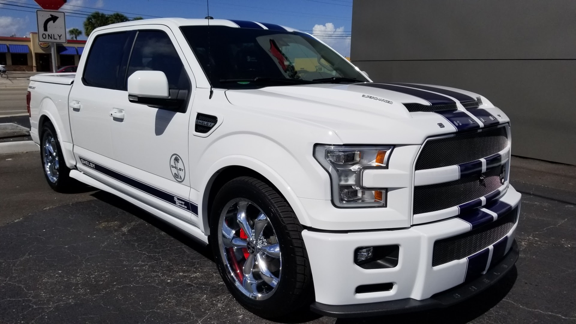 Used 2017 Ford F 150 Shelby Super Snake For Sale Special