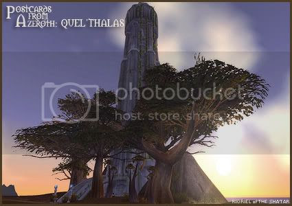 Postcards of Azeroth: Quel'thalas, by Rioriel Ail'thera