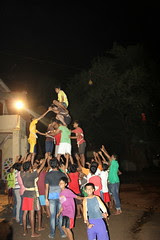 Getting Ready For Breaking the Dahi Handi by firoze shakir photographerno1