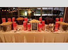 Popcorn Bar  Great for late night munchies!   Bowman/Dickens Wedding   Pinterest   Night
